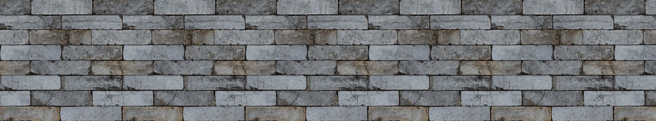 Décor brick dark 535